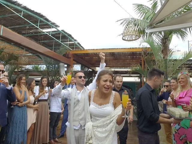 La boda de Giulia y Dani