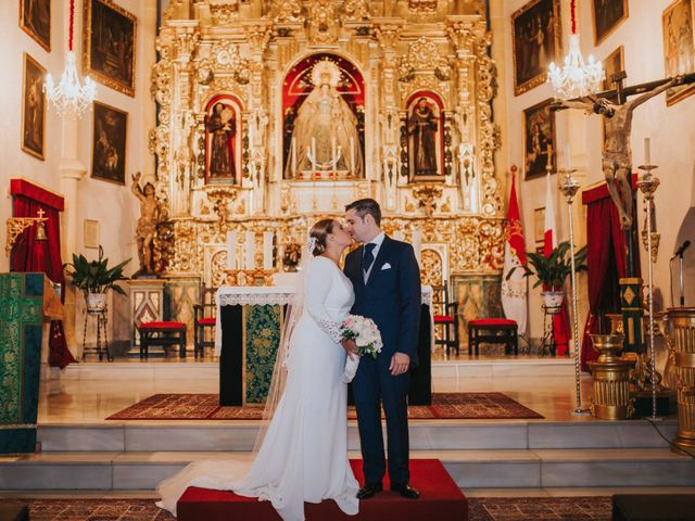 La boda de Miguel Angel y Maria Isabel en Guillena, Sevilla 97