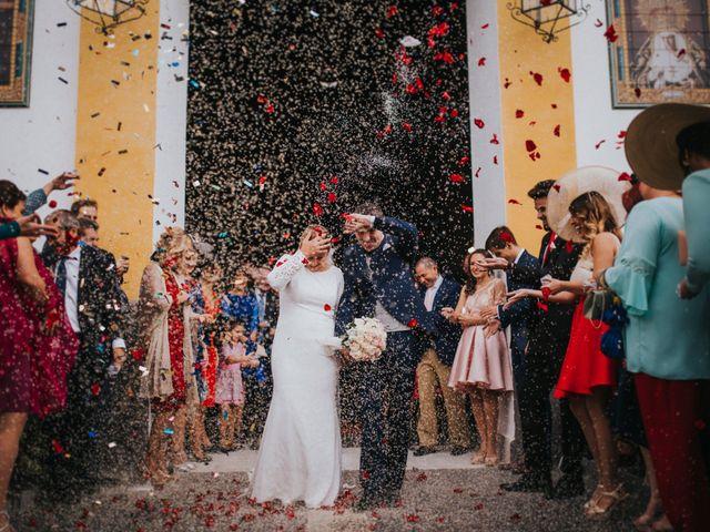 La boda de Miguel Angel y Maria Isabel en Guillena, Sevilla 100