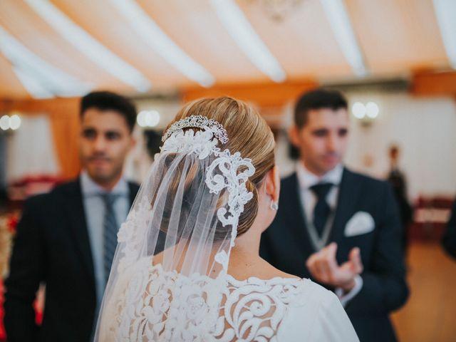 La boda de Miguel Angel y Maria Isabel en Guillena, Sevilla 110