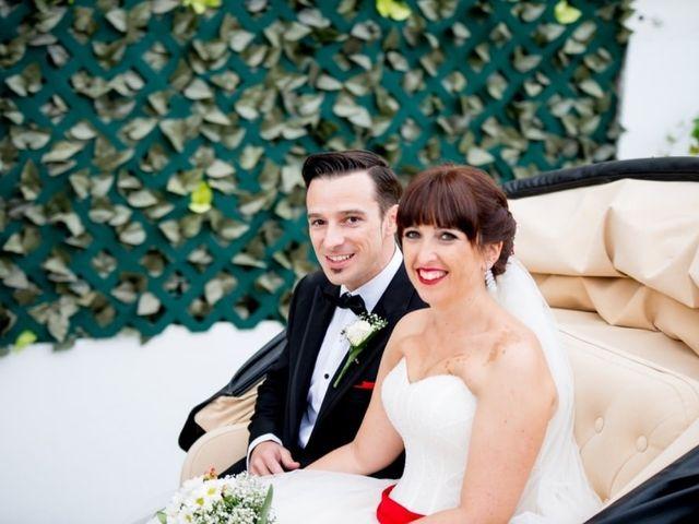 La boda de Angie y Tony