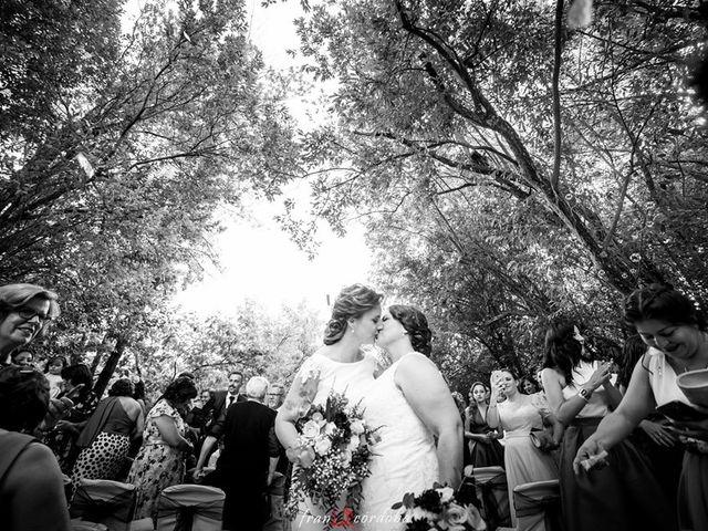 La boda de Silvia y Susana en Valdastillas, Cáceres 11