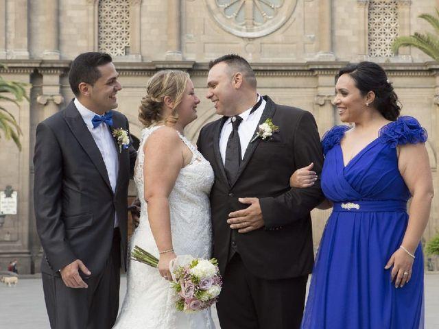 La boda de Jonatan y Cristina en Las Palmas De Gran Canaria, Las Palmas 10