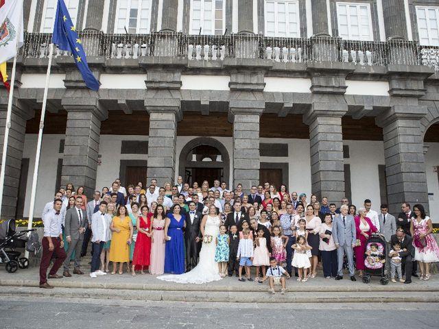 La boda de Jonatan y Cristina en Las Palmas De Gran Canaria, Las Palmas 11
