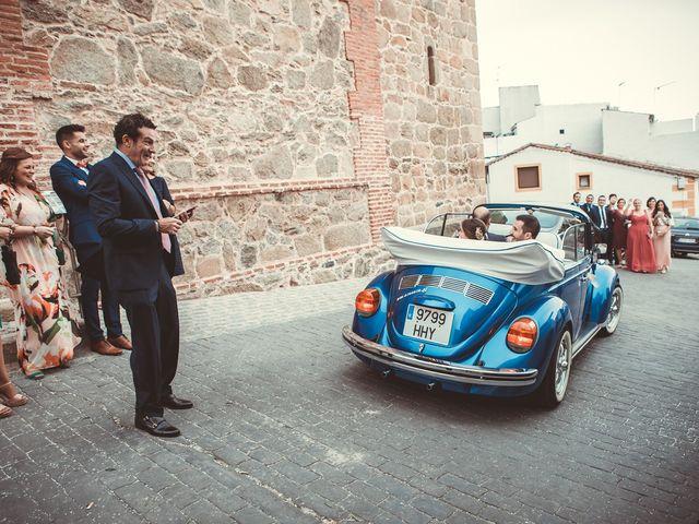 La boda de Jose y Beatriz en Castillo De Bayuela, Toledo 83