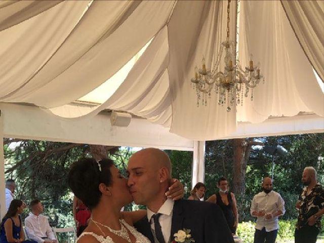 La boda de Miguel y Isamar  en Sant Andreu De Llavaneres, Barcelona 7