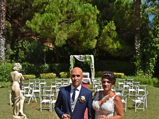 La boda de Miguel y Isamar  en Sant Andreu De Llavaneres, Barcelona 9