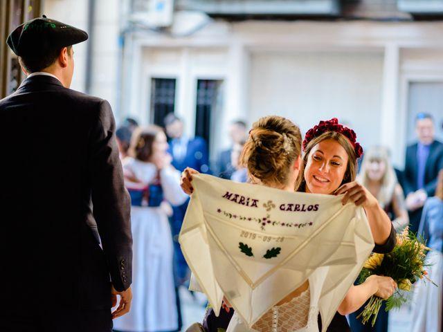 La boda de Carlos y Maria en Andoain, Guipúzcoa 34