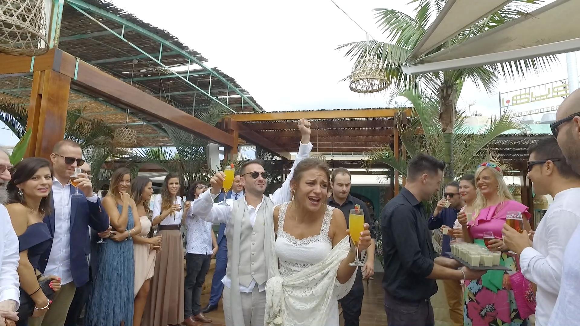 La boda de Dani y Giulia en Xàbia/jávea, Alicante