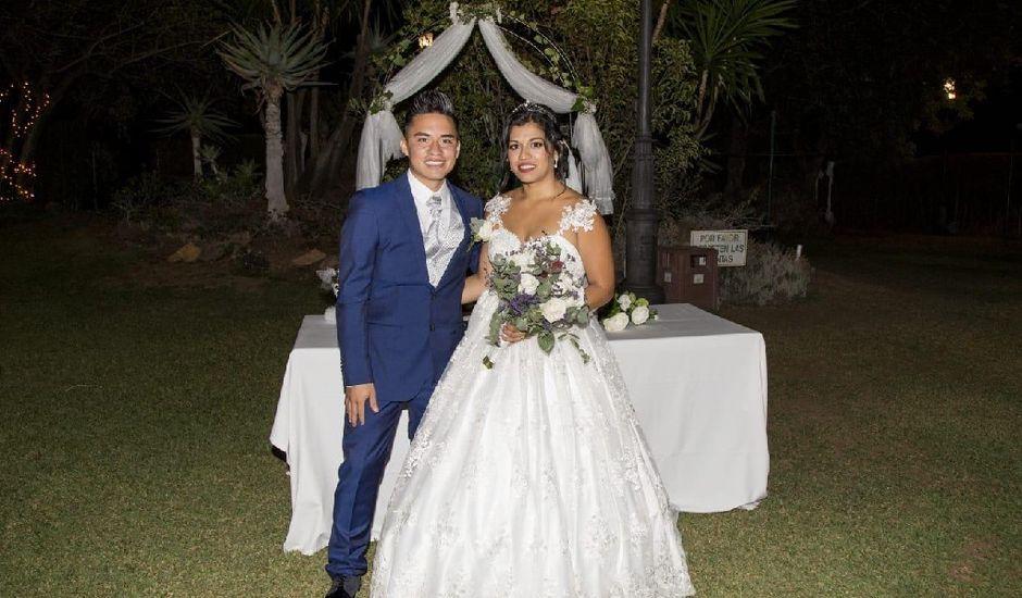 La boda de Héctor  y Diana en Ojen, Málaga