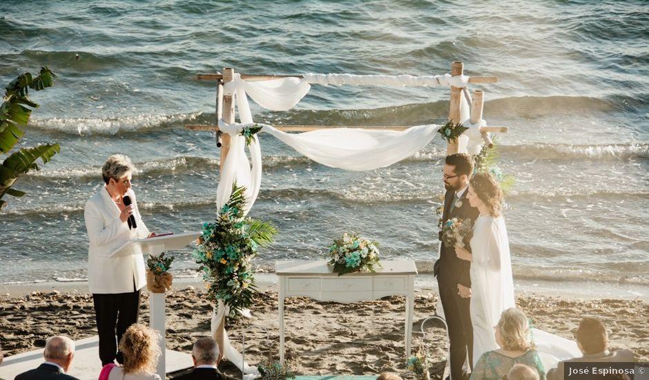 La boda de Vicente y Patricia en La Manga Del Mar Menor, Murcia