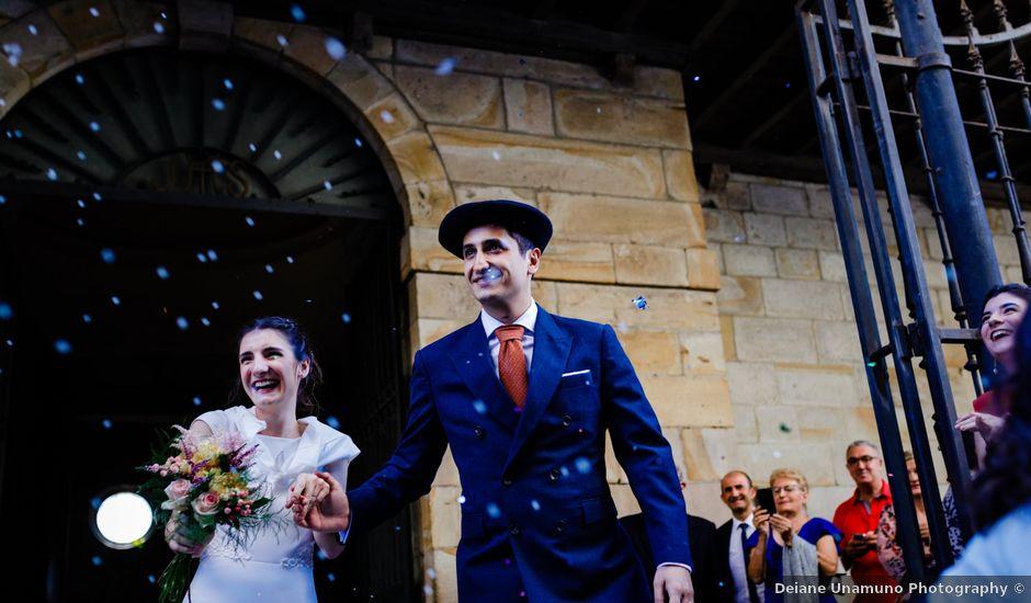 La boda de Carlos y Maria en Andoain, Guipúzcoa