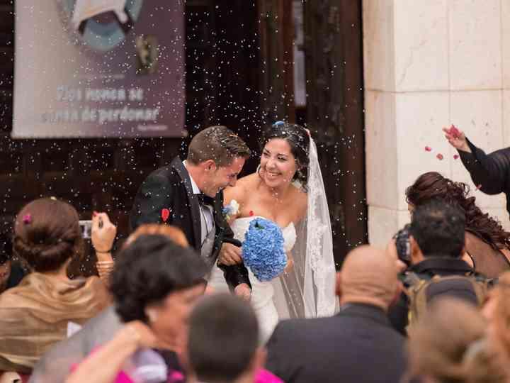 La boda de Virginia y Antonio