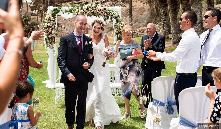 La boda de Samuel y Susana en Telde, Las Palmas