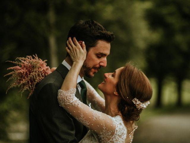 La boda de Paula Conde y Carlos Vaquero