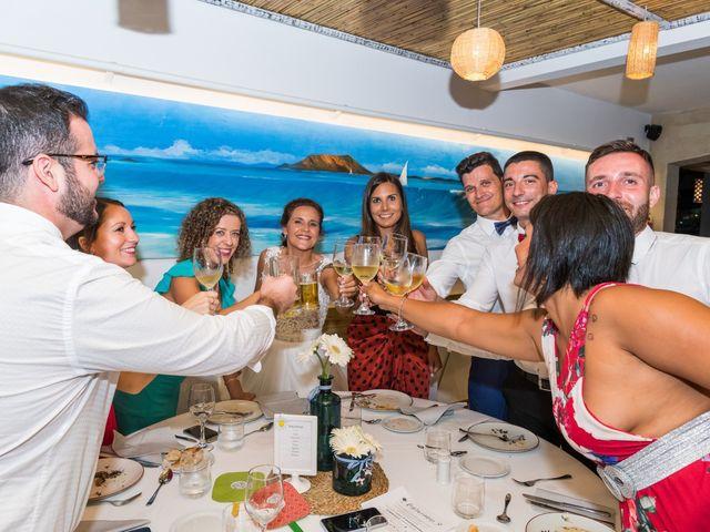 La boda de Enrique  y Maria  en Corralejo, Las Palmas 60