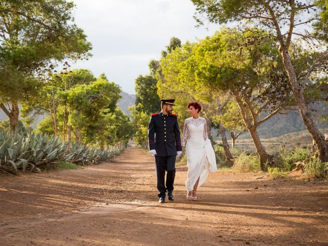 La boda de Manolo y Estefania en Almería, Almería 23