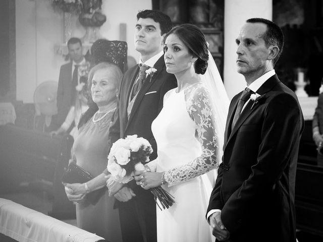La boda de Javier y Alicia en La Carlota, Córdoba 1