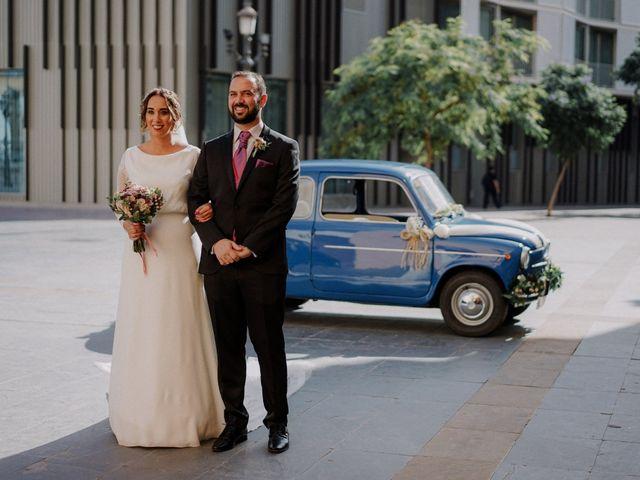La boda de Abel y Laura en Málaga, Málaga 16