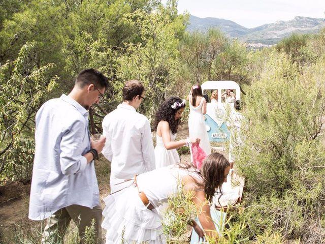 La boda de Laura y David en Alforja, Tarragona 17