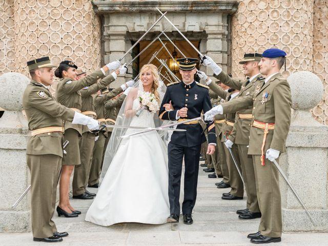 La boda de Fernando y Martina en Segovia, Segovia 33