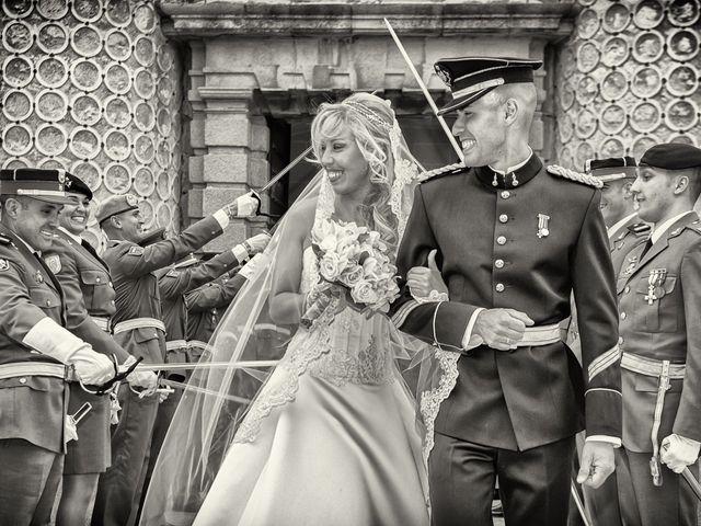 La boda de Fernando y Martina en Segovia, Segovia 35