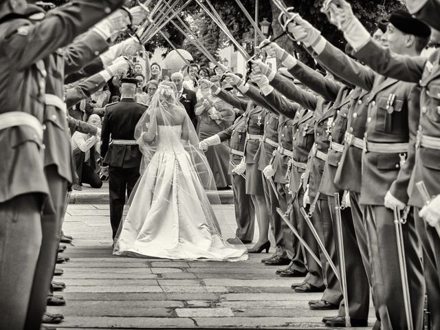 La boda de Fernando y Martina en Segovia, Segovia 36