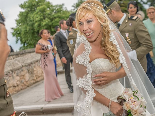 La boda de Fernando y Martina en Segovia, Segovia 38