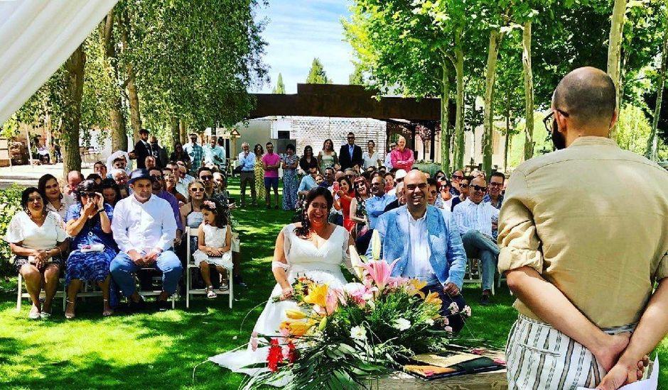 La boda de Karina y Raul en Medina Del Campo, Valladolid