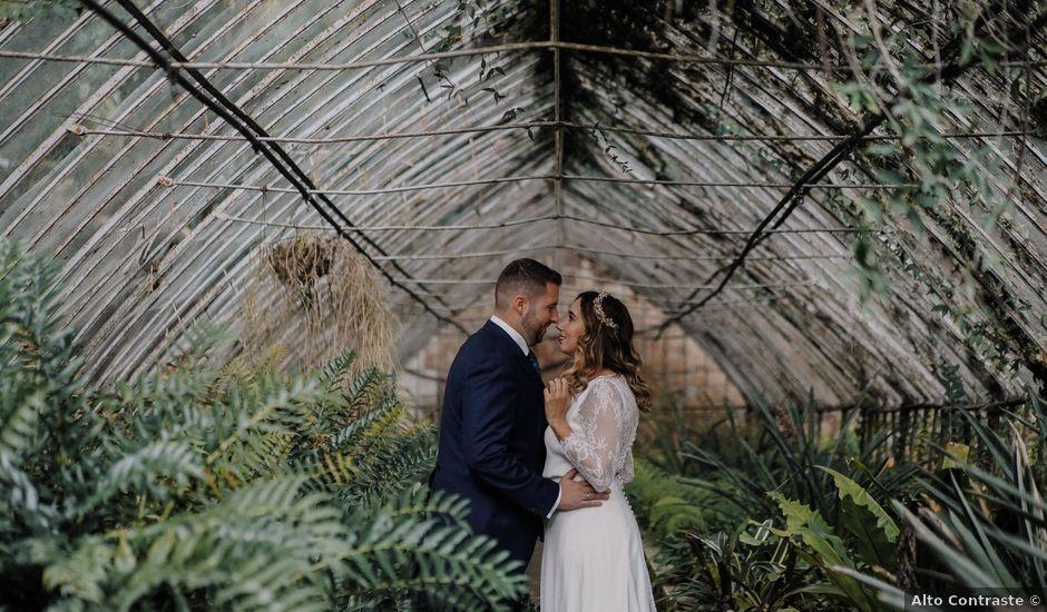 La boda de Abel y Laura en Málaga, Málaga