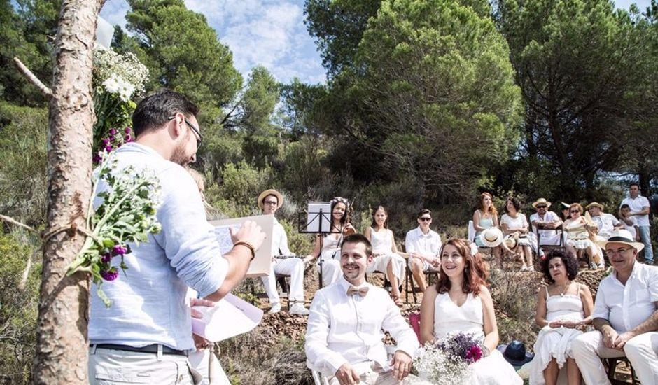 La boda de Laura y David en Alforja, Tarragona