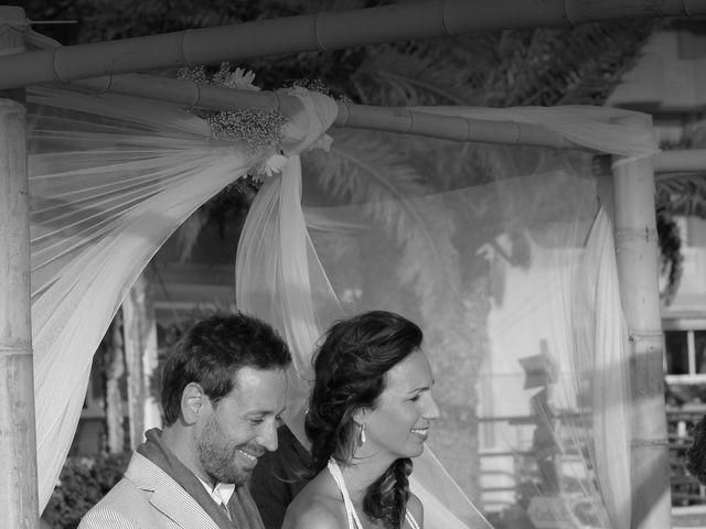 La boda de Jose Javier y Izaskum en La Manga Del Mar Menor, Murcia 12
