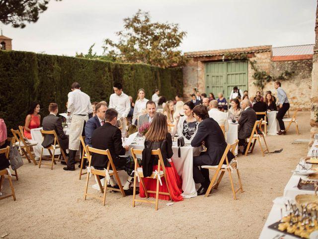 La boda de Andrés y Anna en Hoyuelos, Segovia 79