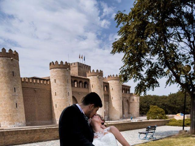 La boda de Arturo y Maria en Zaragoza, Zaragoza 35