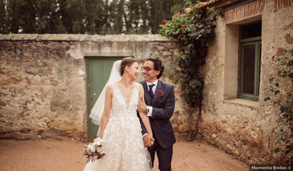 La boda de Andrés y Anna en Hoyuelos, Segovia