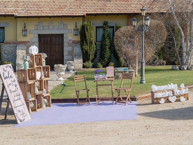 La boda de Fernando y Ruth en Collado Villalba, Madrid 17