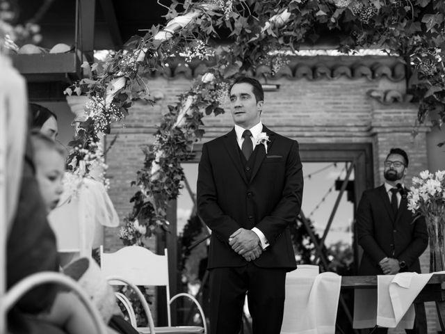 La boda de Antonio y Laura en Ballesteros De Calatrava, Ciudad Real 30