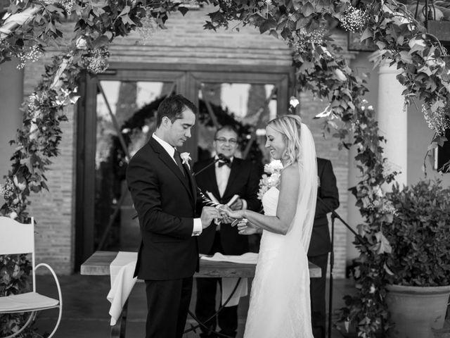La boda de Antonio y Laura en Ballesteros De Calatrava, Ciudad Real 36