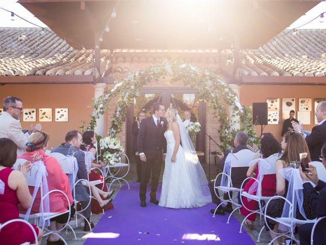 La boda de Antonio y Laura en Ballesteros De Calatrava, Ciudad Real 38