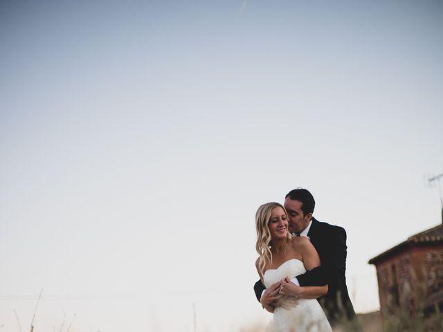 La boda de Antonio y Laura en Ballesteros De Calatrava, Ciudad Real 49