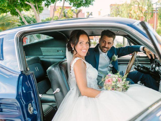 La boda de Pedro y Estefanía en Santa Cruz De Tenerife, Santa Cruz de Tenerife 45