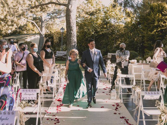 La boda de Raul y Estefania en Guadarrama, Madrid 3