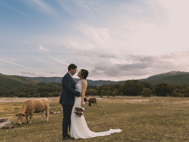 La boda de Raul y Estefania en Guadarrama, Madrid 15