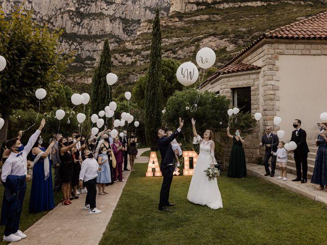 La boda de Ángel y Deyanira en Monistrol De Montserrat, Barcelona 41