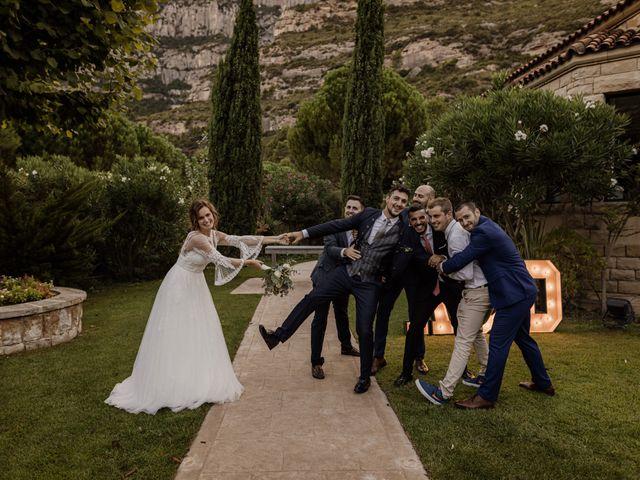 La boda de Ángel y Deyanira en Monistrol De Montserrat, Barcelona 42