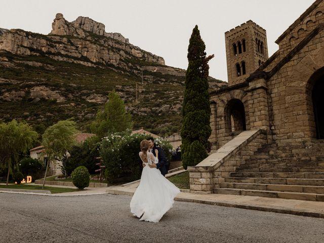 La boda de Ángel y Deyanira en Monistrol De Montserrat, Barcelona 46
