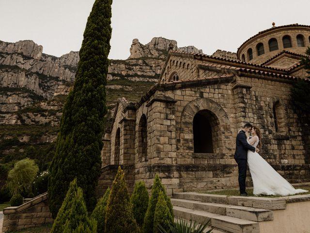 La boda de Ángel y Deyanira en Monistrol De Montserrat, Barcelona 47