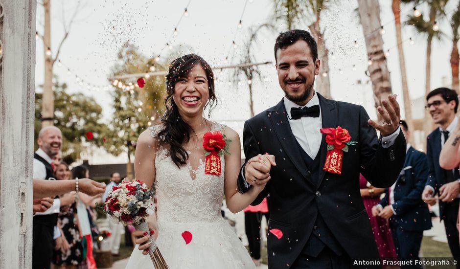 La boda de Sergio y Sonia en Sueca, Valencia