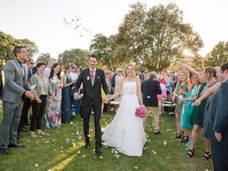 La boda de Mª Rosario y Jean-Philippe