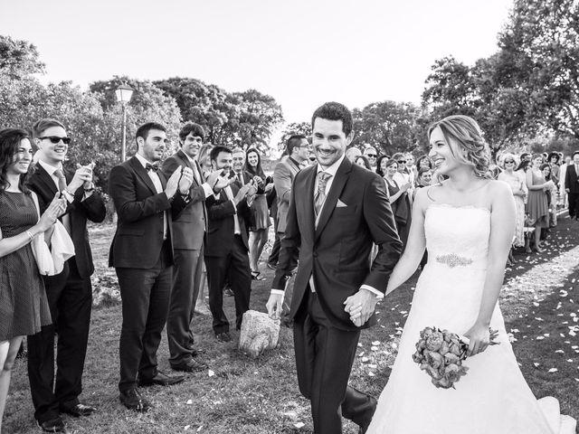 La boda de Jean-Philippe y Mª Rosario en Navalagamella, Madrid 25
